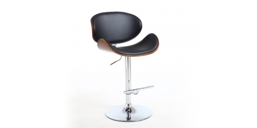 Hariet Bar Stool in Black