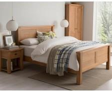 Breeze 4ft6 Solid Oak Bed Frame