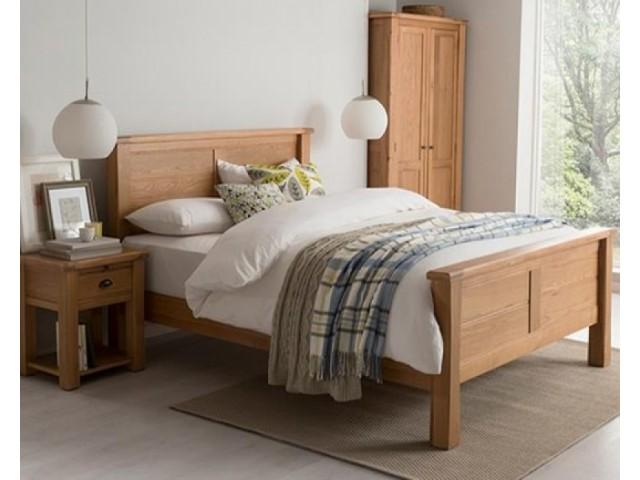 Breeze 5ft Solid Oak Bed Frame