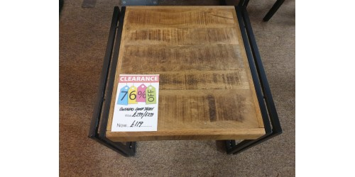 Ontario Lamp Table - SHOP FLOOR CLEARANCE!!!