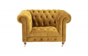 Dante Chesterfield Armchair - 3 Colours Available
