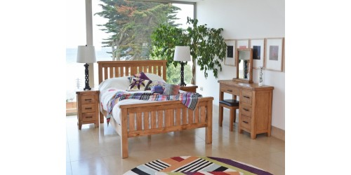 Hastings Solid Oak 5ft Bed Frame