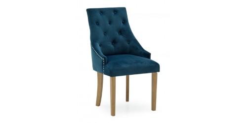 Harry Blue Velvet Dining Chair