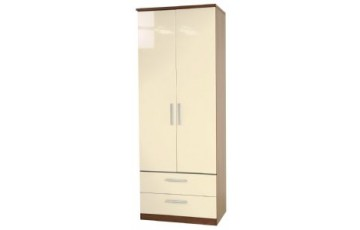 Kingston 2 Door 2 Drawer Wardrobe