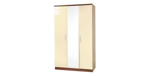 Kingston Tall 3 Door Mirrored Wardrobe