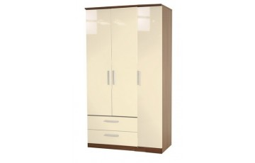 Kingston 3 Door Combi Wardrobe