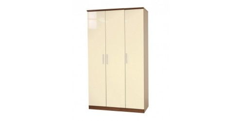 Kingston 3 Door Plain Wardrobe